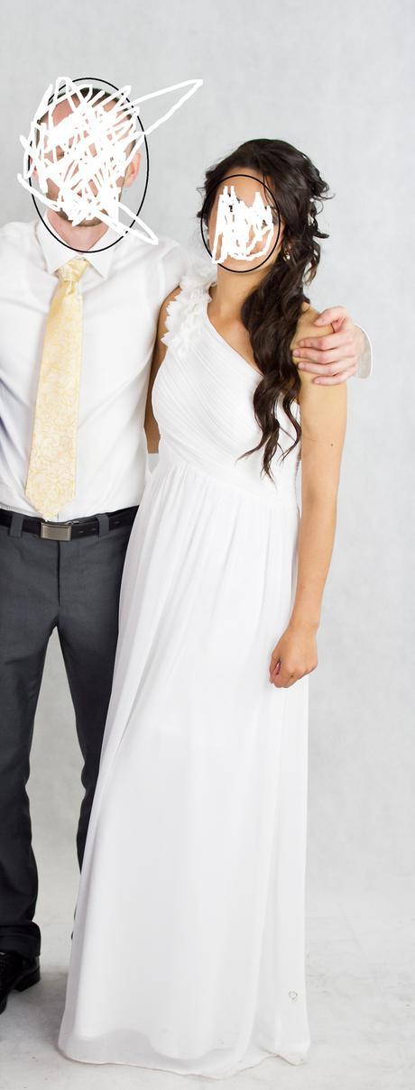 Svadobne šaty jednoduché, 38