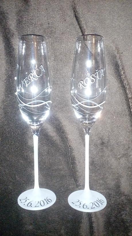 Pieskované poháre,