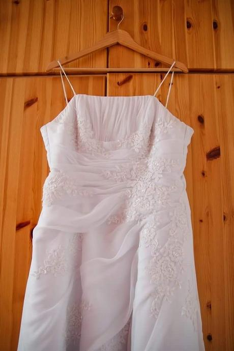 Biele svadobne šaty, 42