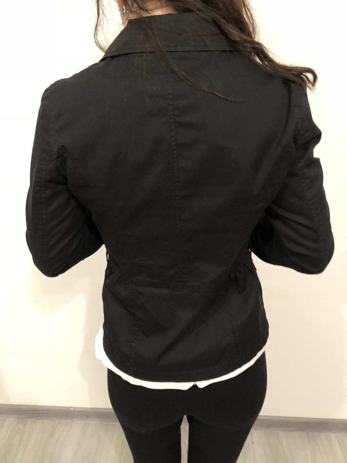 136ebc4d2361 Čierne dámske sako