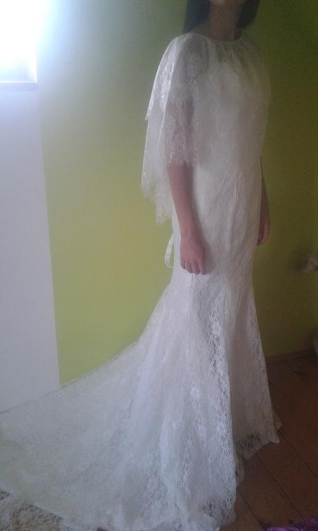 Čipkované svadobné šaty , 36