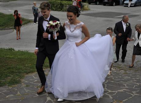 Svadobné šaty Luxury, 38
