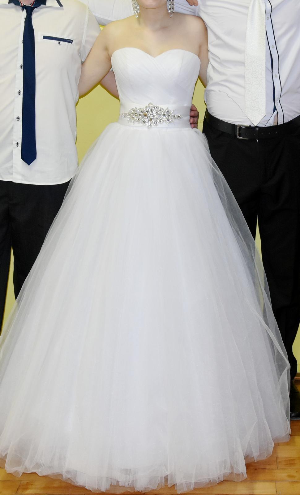 ecdbfb4b622b Korzetové svadobné šaty 34-40