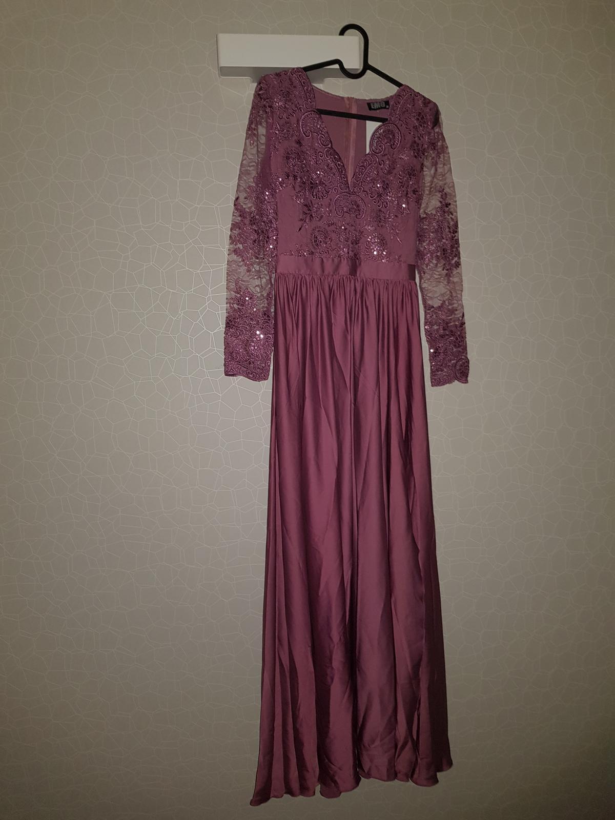 b04d1951d Spoločenské šaty dlhé čipkované luna , - 80 € | Svadobný bazár |  Mojasvadba.sk