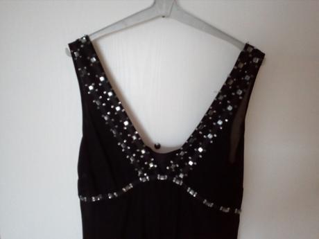 Černé šaty vel.40, 40