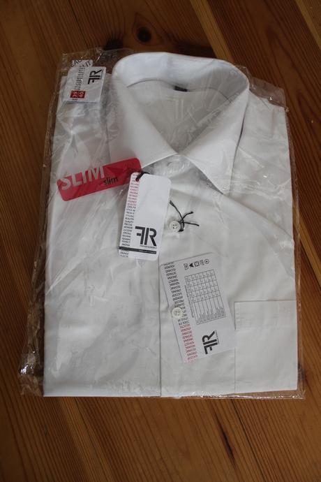 Společenská košile zn.FR nepoužitá, 40