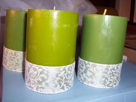 Svíčky 3ks,