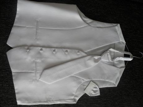 Luxusná vesta+viazanka+vrecko pre veľkého ženícha , 60