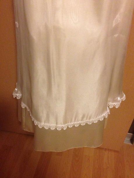 jednoduché svadobné šaty, 40