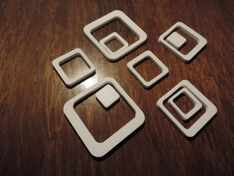 Dekoračné štvorce,