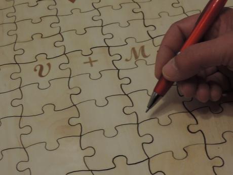 Kniha hostí - puzzle 150ks,