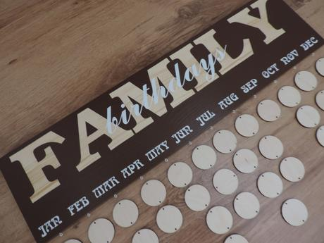 Rodinný kalendár,