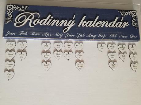 Rodinný kalendár exkluzív,