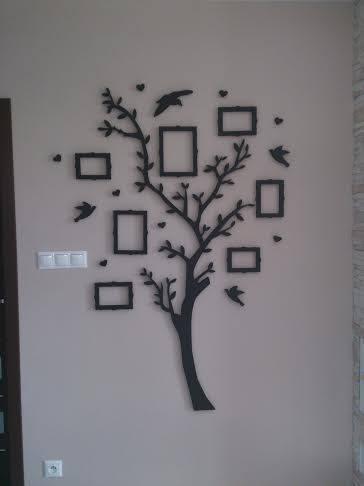 Strom rodiny 3D,