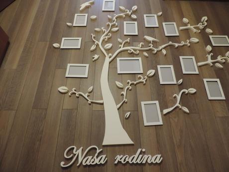 Strom rodiny - romantický,