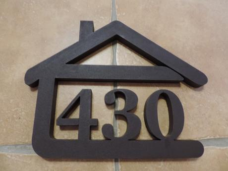 Súpisné čísla s domčekom,