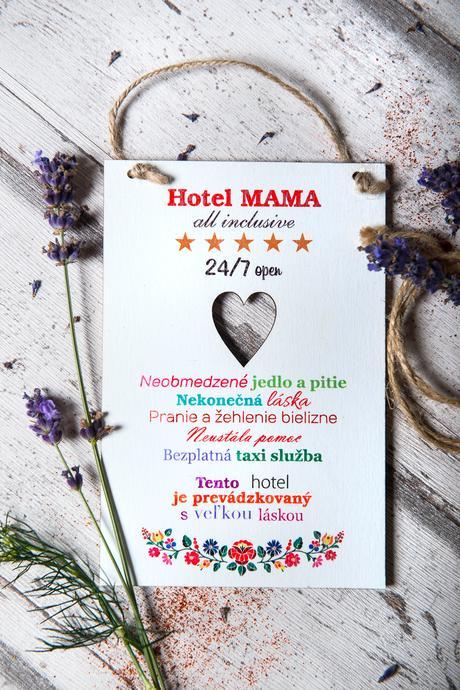 Tabuľka Hotel MAMA,