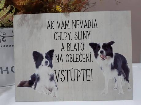 Tabuľka Pes,