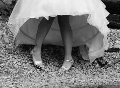 Elegantní svatební šaty vel. 38 vč. závoje a botů, 38