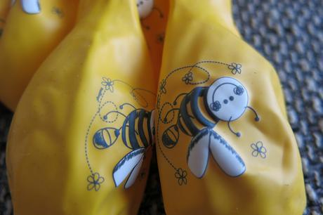 Balonky s motivem včelky 35cm,