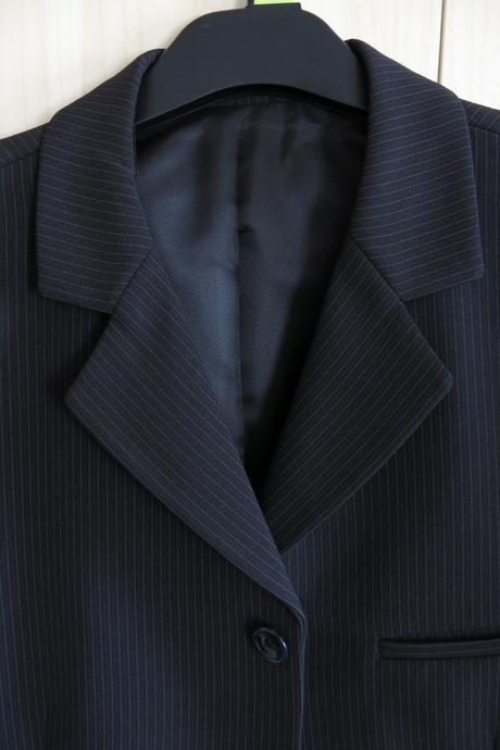 Pánský oblek s vestičkou vel. 52, 52