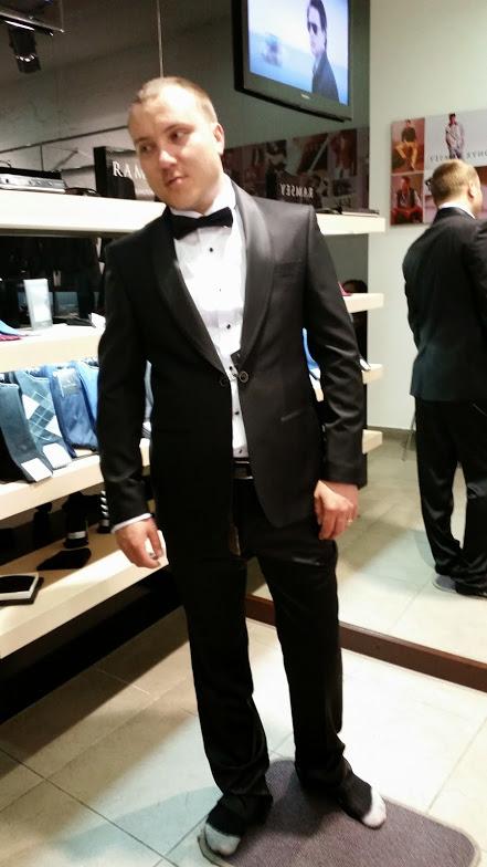 Pánský oblek Ramsey, 44