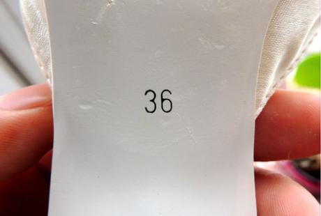 Svatební lodičky šampaň, 37, 36