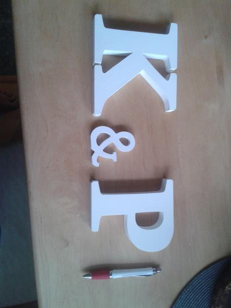 """písmena """" K & P"""","""