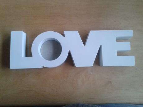 rámeček LOVE,