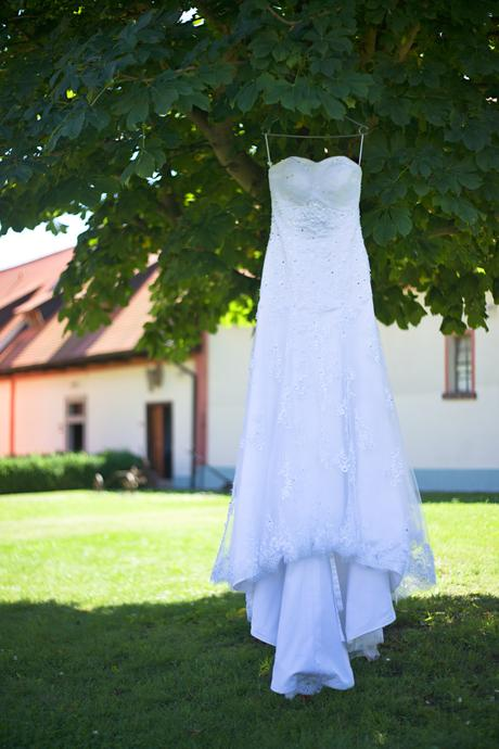 svatební šaty vel 36 - 40, 38