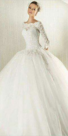 Krajkové princeznovské svatební šaty, 38