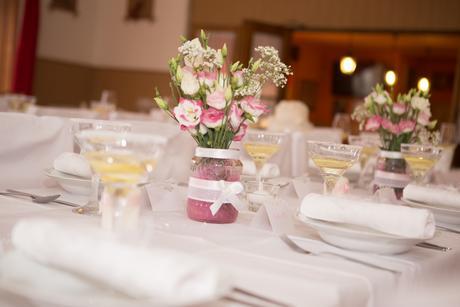 Dekorační věcičky na svatební stůl,