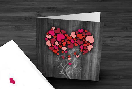 Svadobné oznámenie Strom lásky,