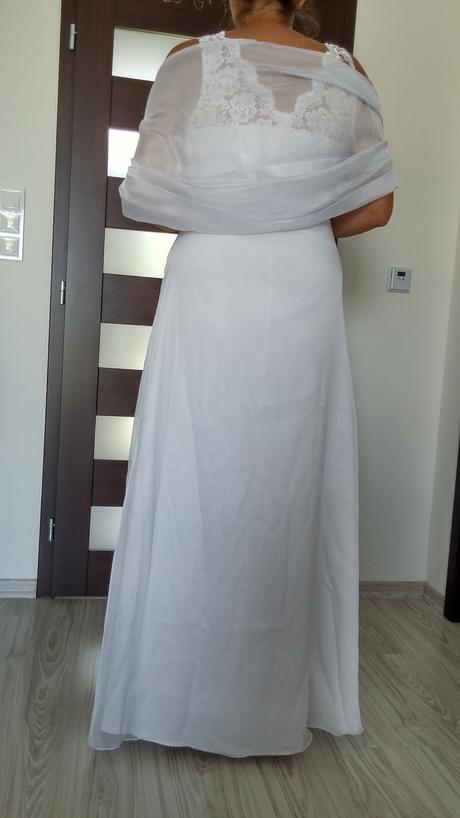 svadobné šaty (nielen) pre tehuľku, 40