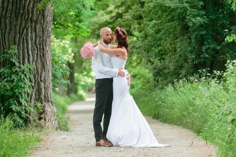Svatební šaty, velikost 34, 36
