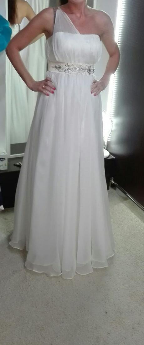 Luxusné svadobné/spoločenské šaty -cena s poštou , 36