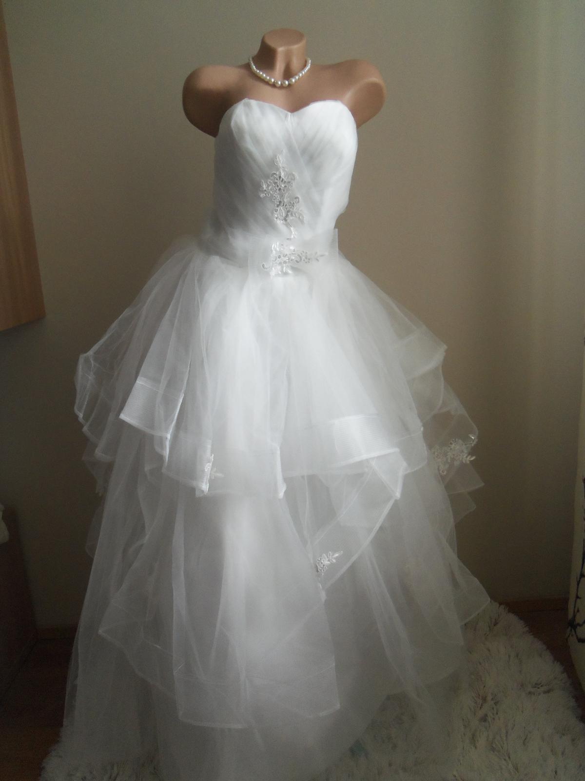4e8e500fe16f Akcia svadobné šaty k dispozícii eu 36-40