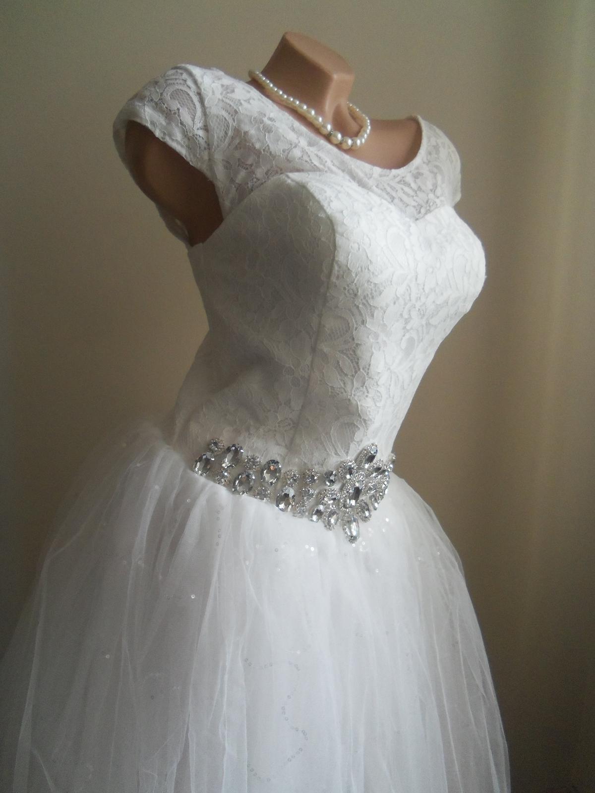 0b205b5e130b Akcia svadobné šaty k dispozícii eu 38 40