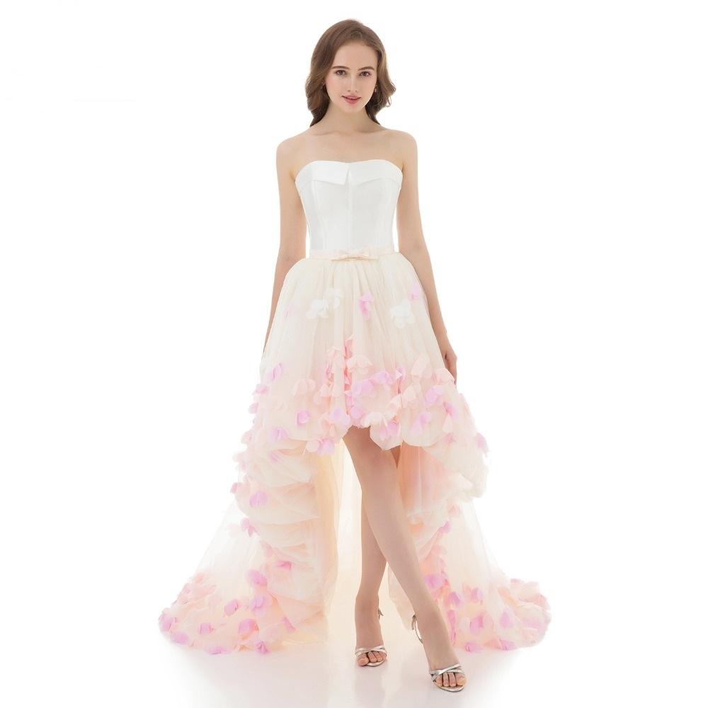 Asymetrické svadobné šaty - 8 veľkostí 00a3a6811ff