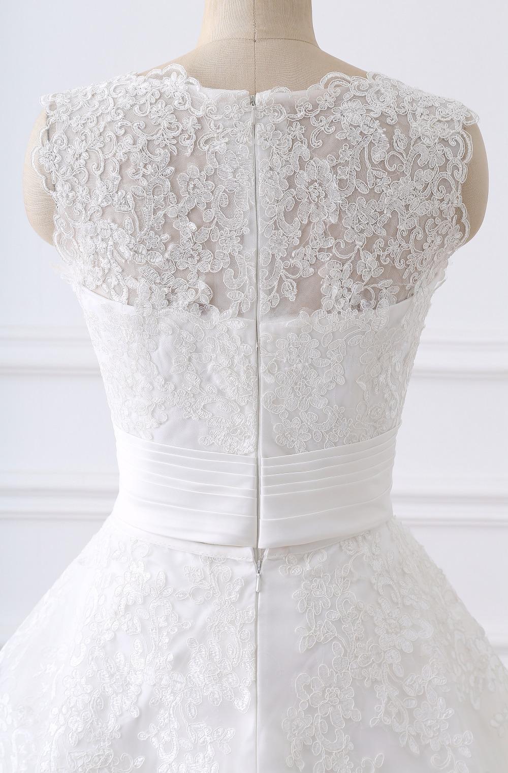 Dlhé krátke svadobné šaty- 8 veľkostí 6650740e3ef