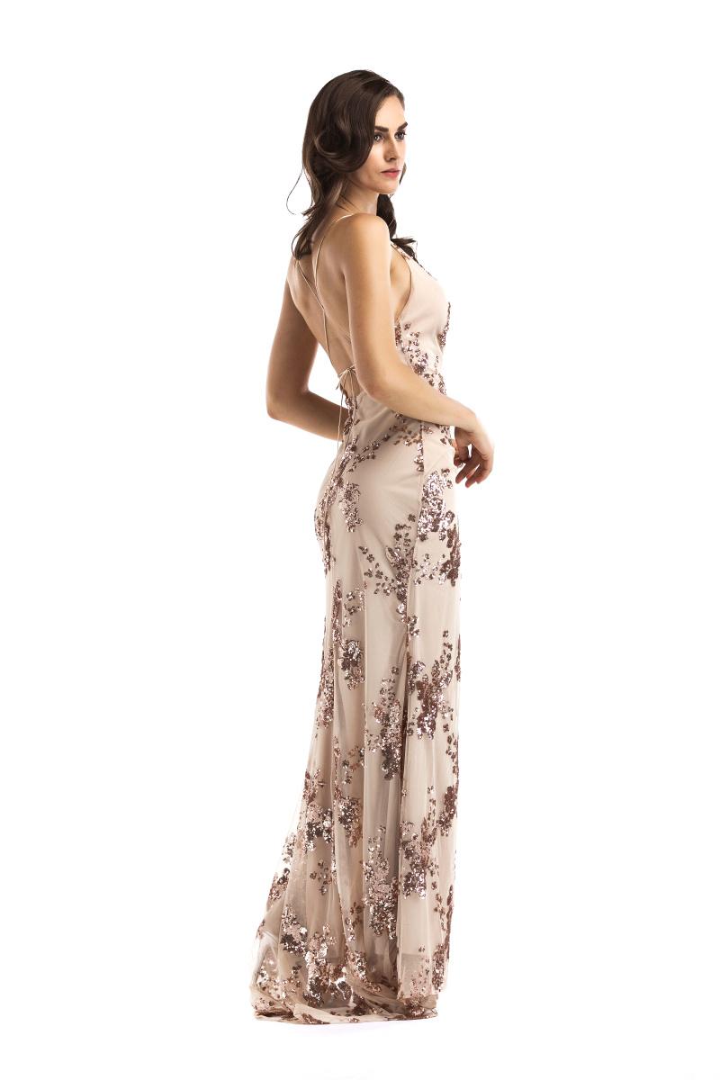 77d4d3b158a4 Dlhé spoločenské šaty - 4 veľkosti