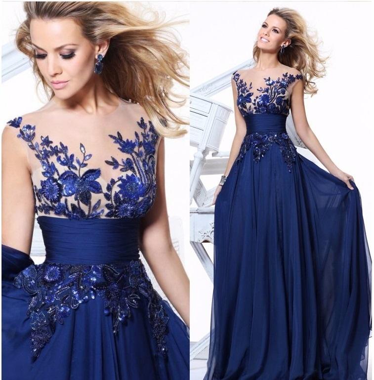 dfc5348f3046 Dlhé spoločenské šaty - 7 veľkostí