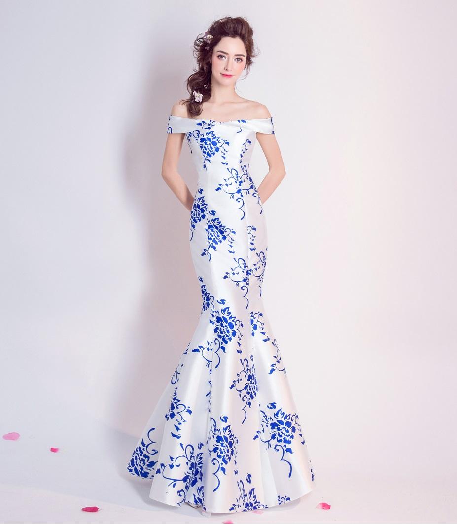 f28b48528efe Dlhé spoločenské šaty - 7 veľkostí