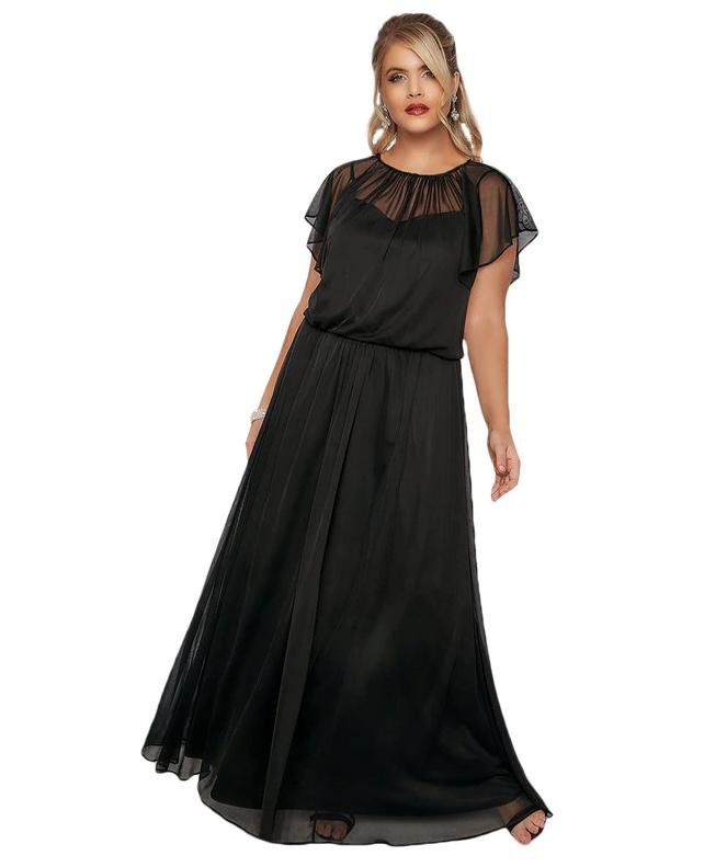 f836cfae2196 Dlhé spoločenské šaty pre moletky - 4 veľkosti
