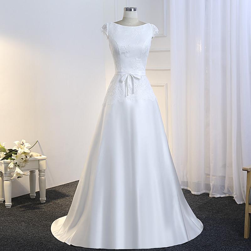 1d9312e43509 Dlhé svadobné šaty - 10 veľkostí