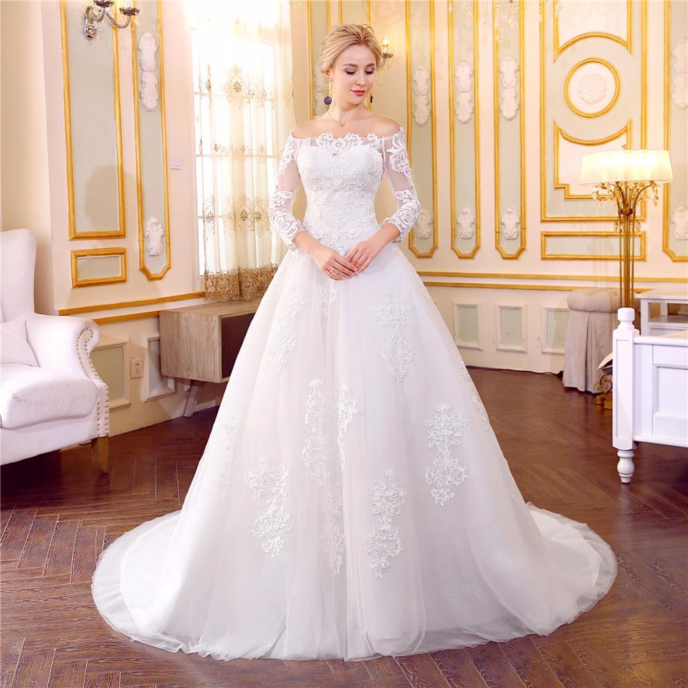 Dlhé svadobné šaty - 12 veľkostí fc2a57cb5ac