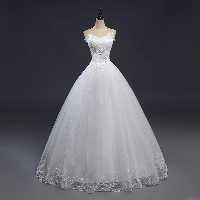 3571beb611a9 Dlhé svadobné šaty - 12 veľkostí