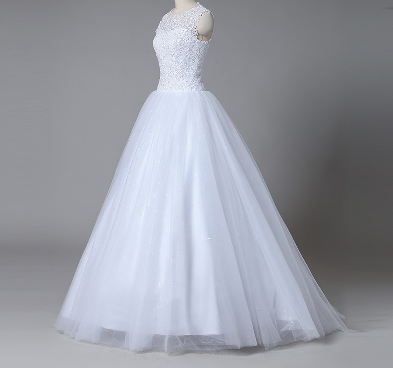 49b57711ef54 Dlhé svadobné šaty - 13 veľkostí