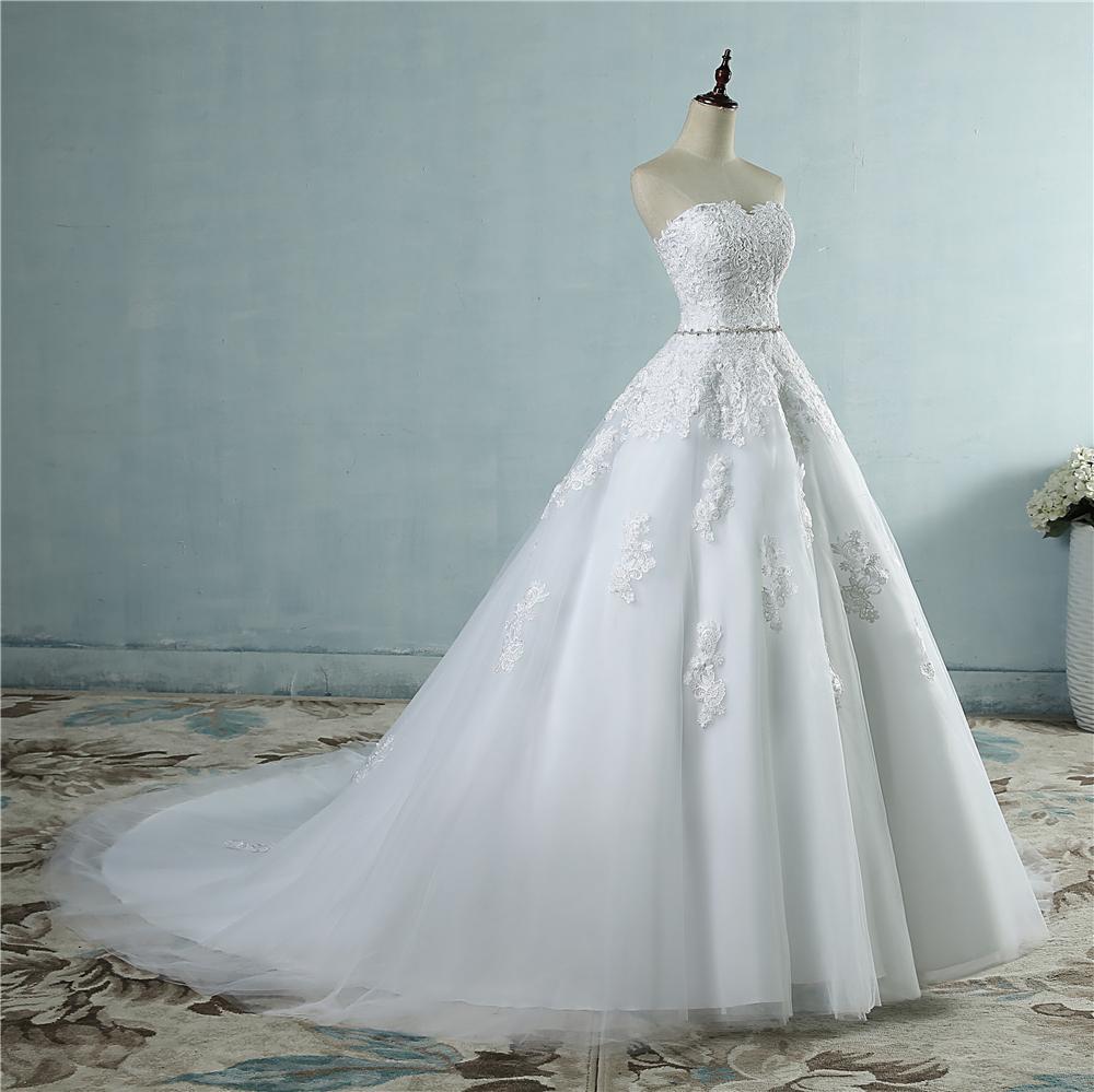 e080b9a66cf8 Dlhé svadobné šaty - 14 veľkostí