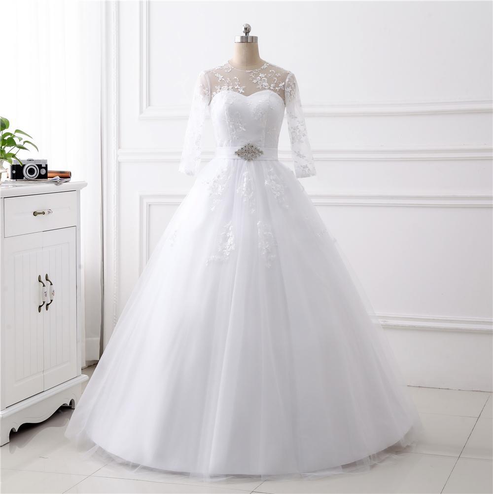 fd98657a094c Dlhé svadobné šaty - 14 veľkostí